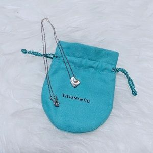 Tiffany & Co. Jewelry - Tiffany & Co. Full Heart Silver Pendant Necklace